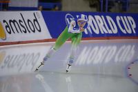 SPEEDSKATING: Calgary, The Olympic Oval, 08-02-2020, ISU World Cup Speed Skating, 1500m Ladies Division B, Anna Kovaleva (BLR), ©foto Martin de Jong