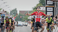 Jasper de Buyst (BEL/Lotto-Soudal) wins the elite sprint to the finish<br /> <br /> 10th Heistse Pijl 2017