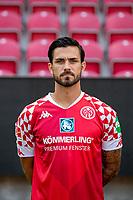 16th August 2020, Rheinland-Pfalz - Mainz, Germany: Official media day for FSC Mainz players and staff; Danny Latza FSV Mainz 05