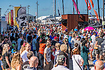Guest attend the the Volvo Ocean Race 2014-2015 Leg 4 Sanya to Auckland stop-over at the Shed 10 Cruise Ship Terminal on 14 March 2015 in Auckland, New Zealand. Photo by Victor Fraile / Power Sport Images
