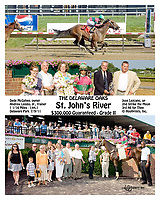 St. John's River winning 2011 The Delaware Oaks <br /> To see other versions of this win search St. John's River, winphoto, Special Request