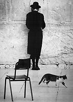 Waling Wall, Jerusalem, israel<br /> <br /> Photo : Boris Spremo - Toronto Star archives - AQP