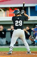Grant Buckner #29 of the Bristol White Sox at bat against the Burlington Royals at Burlington Athletic Park on July 9, 2011 in Burlington, North Carolina.  The Royals defeated the White Sox 3-2.   (Brian Westerholt / Four Seam Images)