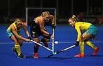 Liz Thompson during the Trans Tasman Hockey match between the New Zealand Blacksticks Women and the Australian Hockeyroos, Massey University Hockey Turf, Palmerston North, New Zealand. Thursday 27 May 2021 Photo: Simon Watts/www.bwmedia.co.nz