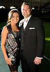 Carla and Chris Snyder at the Astros Wives' Gala at Minute Maid Park Thursday Aug. 16, 2012.(Dave Rossman/For the Chronicle)