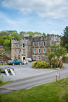 View of Amroth castle at Amroth, Pembrokeshire, Wales, UK