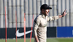 Atletico de Madrid's coach Diego Pablo Cholo Simeone during training session. October 8,2020.(ALTERPHOTOS/Atletico de Madrid/Pool)