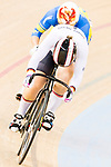Kristina Vogel of the Germany team competes in the Women's Sprint - Quarterfinals as part of the 2017 UCI Track Cycling World Championships on 13 April 2017, in Hong Kong Velodrome, Hong Kong, China. Photo by Marcio Rodrigo Machado / Power Sport Images