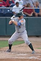 August 4, 2009: Boise Hawks catcher Matt Williams at-bat during a Northwest League game against the Everett AquaSox at Everett Memorial Stadium in Everett, Washington.