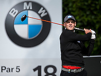 19.05.2015. Wentworth, England. BMW PGA Golf Championship. Practice Day.  Martin Kaymer at the 18th Tee during the practice round of the 2015 BMW PGA Championship from The West Course Wentworth Golf Club