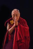 The Dalai Lama speaking at Town Hall