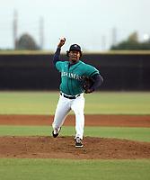 Natanael Garabitos - 2021 Arizona League Mariners (Bill Mitchell)