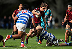 Action during the 1st XV Rugby match between Kings College and St Kentigern College, Kings College, Auckland, New Zealand. Saturday 12 August 2017. Photo: Simon Watts/www.bwmedia.co.nz for Kings College