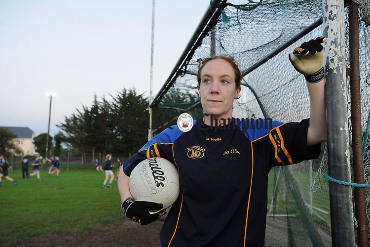 Team captain Louise Henchy.Photograph by John Kelly