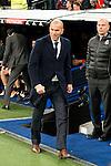 Real Madrid's coach Zinedine Zidane during La Liga match. March 20,2016. (ALTERPHOTOS/Borja B.Hojas)
