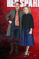 """Jeremy Irons and Sinead Cusack<br /> arriving for the """"Red Sparrow"""" premiere at the Vue West End, Leicester Square, London<br /> <br /> <br /> ©Ash Knotek  D3382  19/02/2018"""