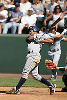 June 5, 2010: Brian Hernandez of UC Irvine during NCAA Regional game against Kent State at Jackie Robinson Stadium in Los Angeles,CA.  Photo by Larry Goren/Four Seam Images