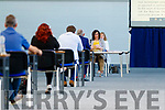 The Kerry County Council meeting which was held at the Kerry Sports Acadamy building at the IT Tralee campus due to Covid-19 restrictions.
