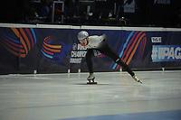 SPEEDSKATING: DORDRECHT: 05-03-2021, ISU World Short Track Speedskating Championships, Heats 500m Men, Shaolin Sandor Liu (HUN), ©photo Martin de Jong