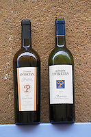 Domaine Entretan, J-C and D Plantade in Roubia. Cuvee Polere and tradition Minervois. Languedoc. France. Europe. Bottle.