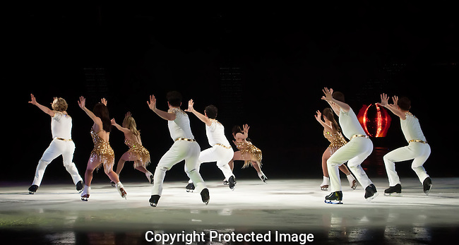 Figure Skaters in Formation