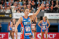 6th June 2021; Ken Rosewall Arena, Sydney, New South Wales, Australia; Australian Suncorp Super Netball, New South Wales, NSW Swifts versus Giants Netball; Paige Hadley of NSW Swifts