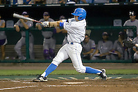 UCLA's Steve Rodriguez in Game 6 of the NCAA Division One Men's College World Series on Monday June 21st, 2010 at Johnny Rosenblatt Stadium in Omaha, Nebraska.  (Photo by Andrew Woolley / Four Seam Images)