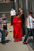 Guillermo Rodriguez Spotted at Jimmy Kimmel Live In Hollywood