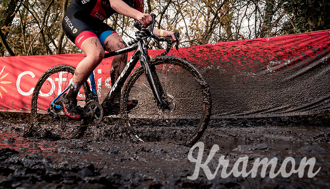 deep mud racing<br /> <br /> Jaarmarktcross Niel (BEL) 2020<br /> Womens Race<br /> <br /> ©kramon
