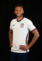 Austin Trusty during a portrait studio session for the U23 Olympic Qualifying team 2021.