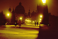 - Prague, King Carl bridge....- Praga, ponte Re Carlo