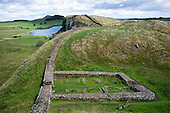 Hadrian's Wall Path and the Pennine Way run together for several miles just north of Haltwhistle, Northumberland.  The wall is the most popular tourist attraction in northern England.