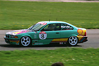 Round 2 of the 1992 British Touring Car Championship. #8 Tim Harvey (GBR). M Team Shell Racing with Listerine. BMW 318is Coupe.