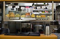 Fuji Soba noodle restaurant in Tokyo Japan