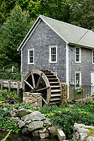 Stony Brook Grist Mill and historic factory village, Brewster, Cape Cod, Massachusetts, USA.
