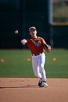 Bryson Slaughter during the Under Armour All-America Tournament powered by Baseball Factory on January 19, 2020 at Sloan Park in Mesa, Arizona.  (Zachary Lucy/Four Seam Images)