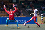 Glasgow Rangers (in blue) vs HKFA U-23 (in white) during their Main Tournament Cup Quarter-Final match, part of the HKFC Citi Soccer Sevens 2017 on 28 May 2017 at the Hong Kong Football Club, Hong Kong, China. Photo by Chris Wong / Power Sport Images