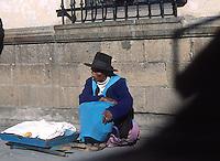 LA PAZ-BOLIVIA-04-09-2007. Hoy día la población indígena en Bolivia supera un 62% (cerca de 3,9 millones de personas). Today the indigenous population in Bolivia than 62% (about 3.9 million people).(Photo: VizzorImage)