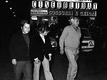 PAOLO E MAURA VILLAGGIO CON ADOLFO CELI<br /> ROMA 1973