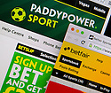 26/08/15<br /> <br /> Photographs of Paddy Power and Betfair webpages today.<br /> <br /> Betfair and Paddy Power are set to merge in a £5bn deal that would create one of the world's biggest online betting and gaming companies.<br />  <br /> All Rights Reserved: F Stop Press Ltd. +44(0)1335 418629   www.fstoppress.com.