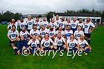 The Golden Oldies rugby team team from California who played the Tralee Rugby Club Golden Oldies in O'Dowd Park on Thursday.