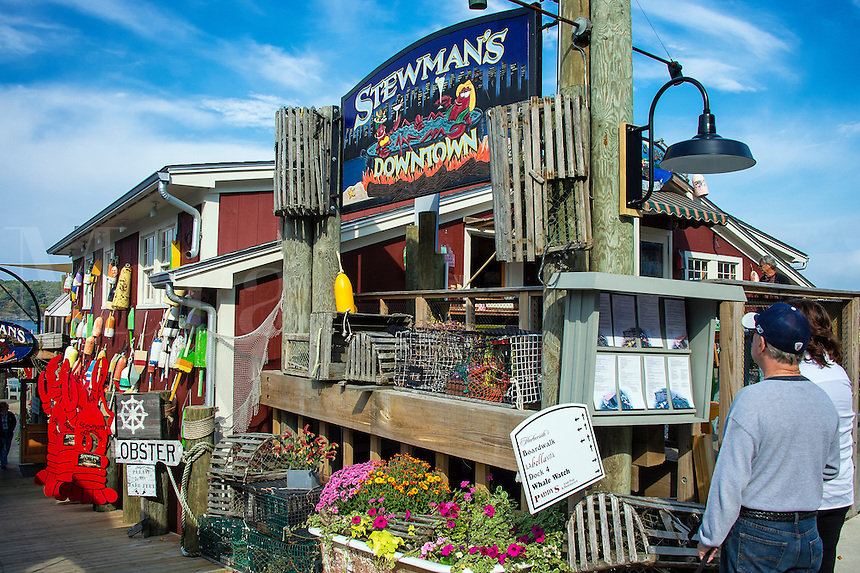 Stewmans Lobster pound, Bar Harbor, Maine, USA