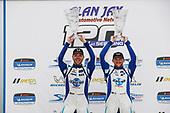 #37 LA Honda World Racing Honda Civic TCR, TCR: Tom O'Gorman, Shelby Blackstock, podium