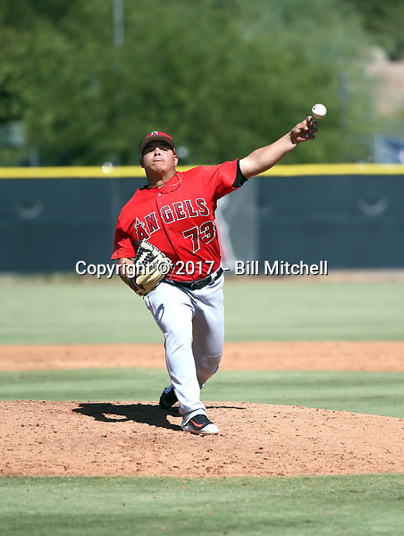 Jose Suarez - 2017 AIL Angels (Bill Mitchell)