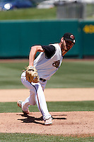 Jay Marshall  -  Sacramento RiverCats  playing against the Round Rock Express at Raley Field, Sacramento, CA - 05/19/2009.Photo by:  Bill Mitchell/Four Seam Images