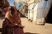 "Saadiya Ibrahim.19 years old. .Married with no children. ...""The day we left Mogadishu we saw people wounded, killed and many others who couldn't move because they were very sick, there were people running in all directions.  It was raining.  ..War is something very bad, it's bad for people's brains and their health.  .I can never forget because the war was going on a long time.  I have family and friends that I've lost - all my uncles are dead.  They're all just innocent victims.  ...The only feeling I have for the people fighting in Mogadishu is to pray for them.  I will pray for God to restore their minds to normal so they will stop what they are doing.  .Before the war, Mogadishu was very beautiful - there were good businesses, houses.  Now all this is destroyed, no business, people are not living happily because they're worried - this is the picture now.  ."