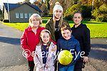 The O'Donoghue family from Killarney enjoying a stroll in Killarney National Park as they celebrate Myles 9th birthday on Saturday. Front: Rosabelle and Myles O'Donoghue. Back l to r: Kay, Andrea and Cathriona O'Donoghue