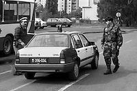 Settembre  1991, ARCI e CGIL organizzano la Carovana della Pace, che in due settimane passerà da Lubiana, Zagabria, Belgrado, Sarajevo e Dubrovnich, incontrando le varie realtà pacifiste della Jugoslavia.
