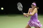 Russia's Maria Sharapova during her WTA Madrid Masters Series Tennis match against Russia's Svetlana Kuznetsova at Madrid Arena, Friday 10 November, 2006. (ALTERPHOTOS/Alvaro Hernandez).