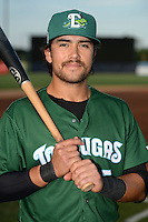 Daytona Tortugas shortstop Alex Blandino (5) poses for a photo before a game against the Tampa Yankees on April 24, 2015 at George M. Steinbrenner Field in Tampa, Florida.  Tampa defeated Daytona 12-7.  (Mike Janes/Four Seam Images)